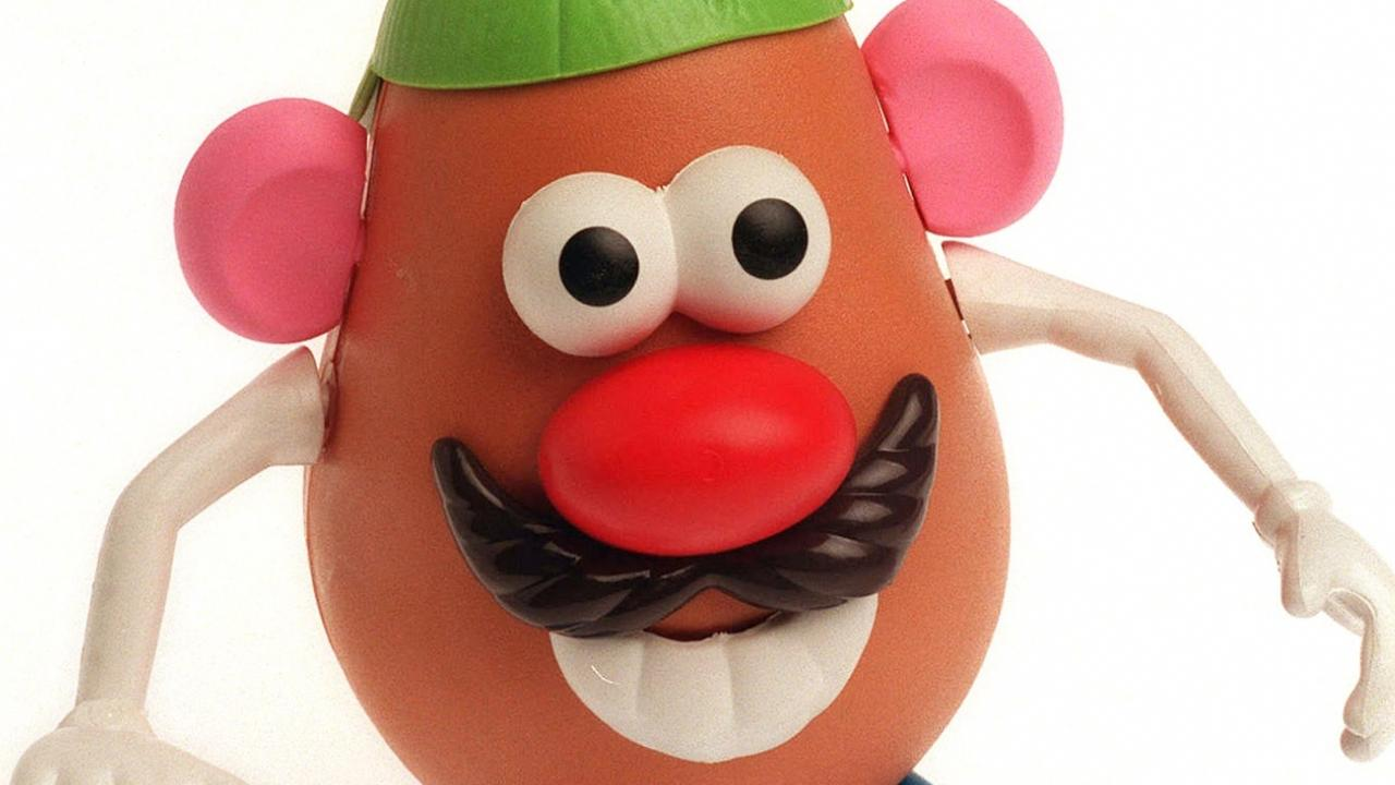 Mr Potato Head is now just plain ol' Potato Head. Picture: Nicole Emanuel