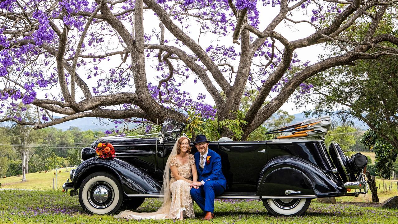Jason and Meg's wedding at Mt Pleasant Picture: Ben Clark Photography