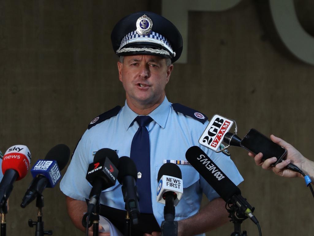 Assistant Commissioner Mick Willing. Picture: John Grainger