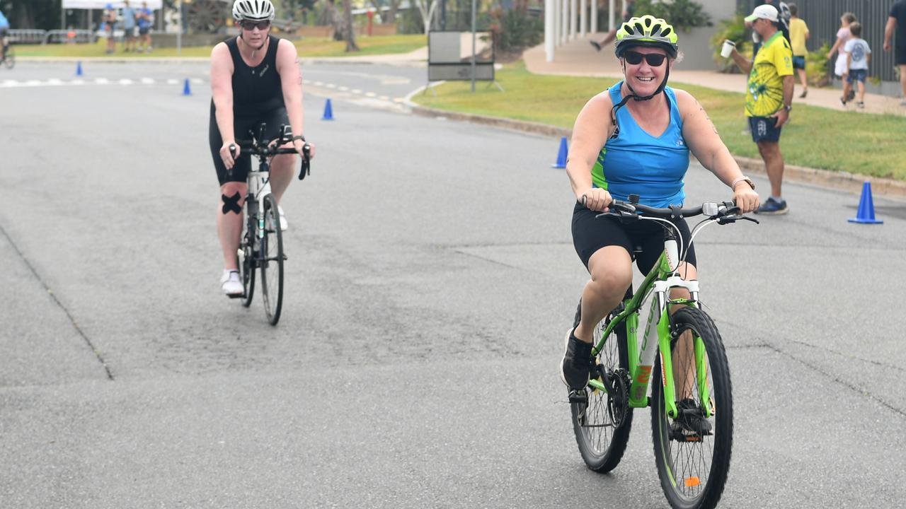 The Rockhampton Triathlon, which features women's only, junior and all-abilities events, will be held on Sunday morning.
