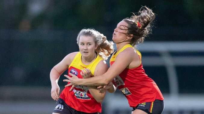 Wallis Randell makes AFLW Gold Coast Suns debut