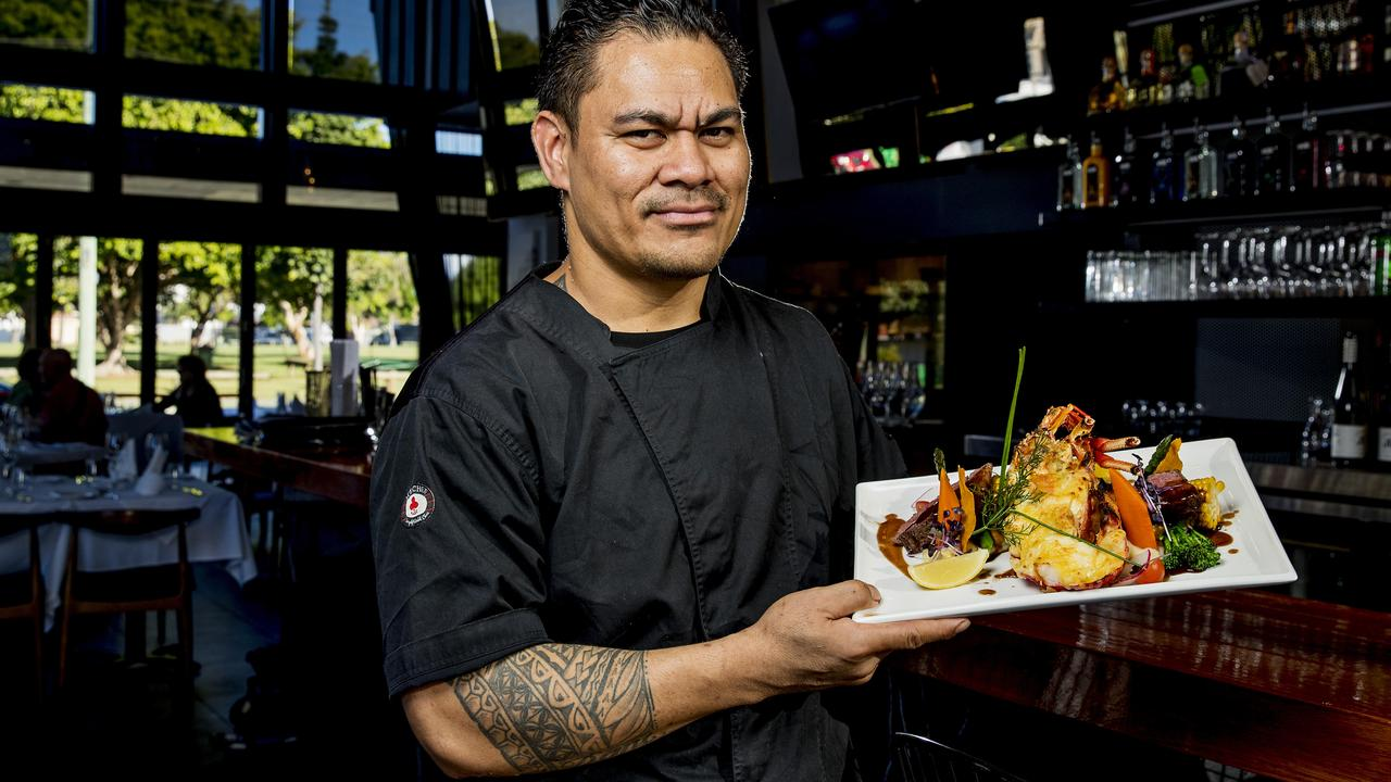 Chef Alekisio Kaihea. Picture: Jerad Williams.