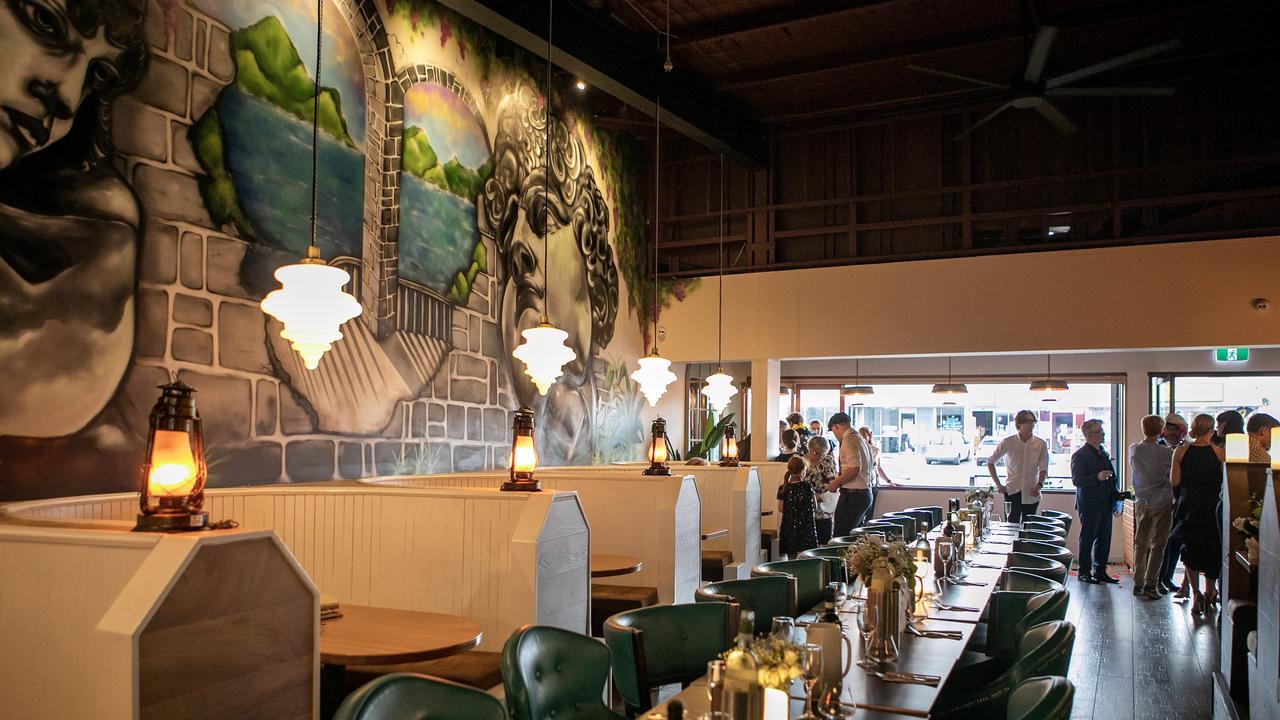 The reception at Mozzarella Cucina at Everton Park. Picture: Ben Clark Photography.
