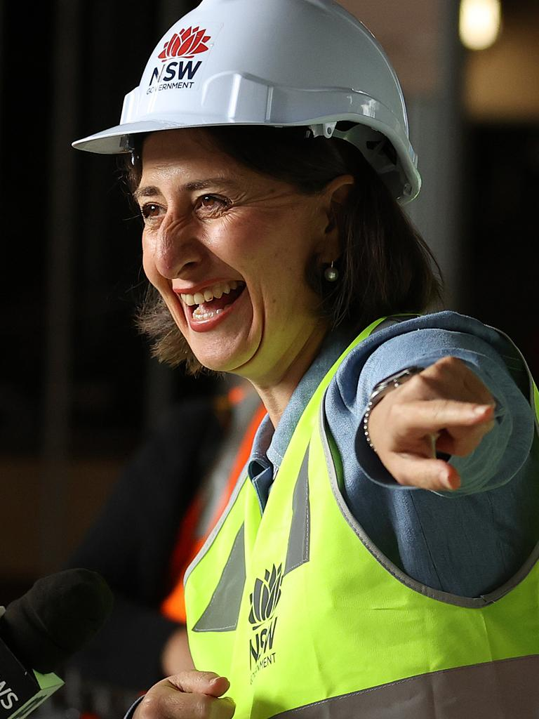 Premier Gladys Berejiklian has slapped down Steven Miles over his hotel quarantine 'stunt'. Picture: NCA NewsWire / Dylan Coker