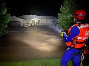 Praise for SES after eight hours of flood-induced mayhem