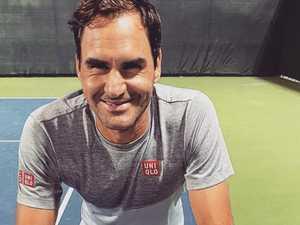 Roger Federer photo sparks a frenzy