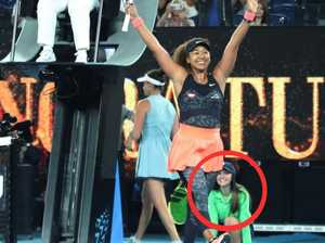 Twist of fate behind viral tennis photo
