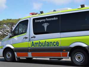 Young man hit by car suffers hip injuries
