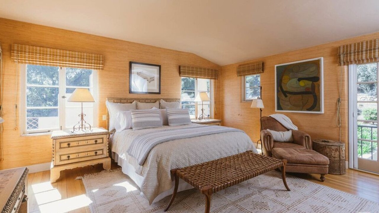 Another of the home's six bedrooms. Picture: Realtor