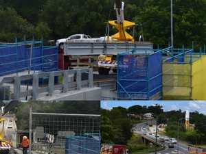 Infamous Gympie bridge project on track amid traffic chaos