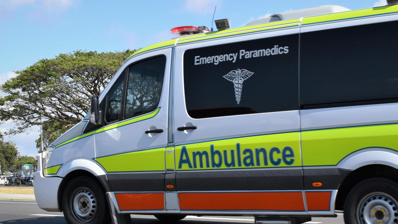 A man has died after reportedly suffering a medical episode and crashing into a tree at Cooloola Cove this morning. Picture: Heidi Petith
