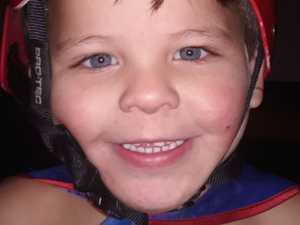 Boy dies after inhaling pin
