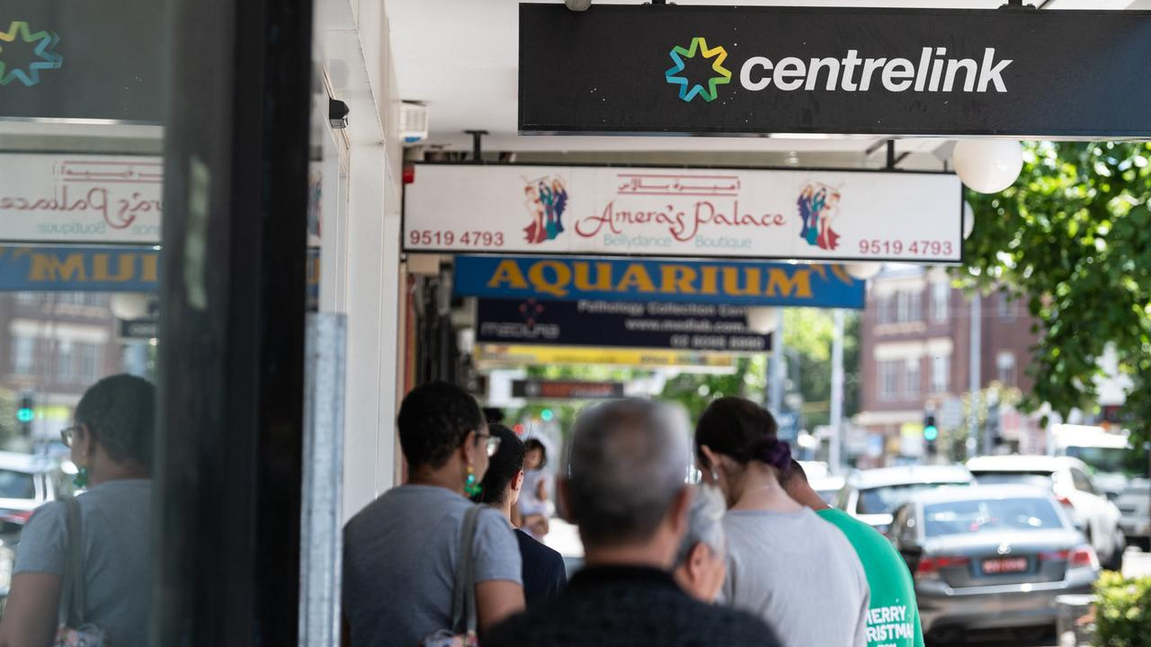 The Coalition is offering a meagre $25-a-week increase to the dole. Picture: James Gourley/NCA NewsWire