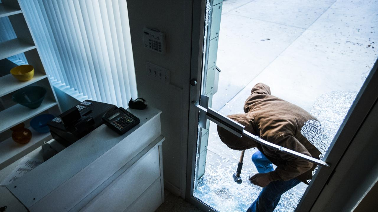 IN COURT: The man smashed through two doors to gain entry to one of the homes he broke into. Picture: iStock