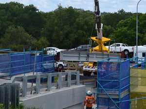 Gympie bridge demolished, on track for repair amid traffic chaos