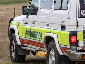 Man taken to hospital after quad bike crash
