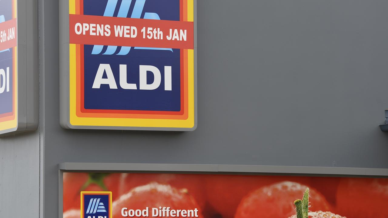 Is Aldi making a huge mistake by not offering online shopping? Picture: Kevin Farmer