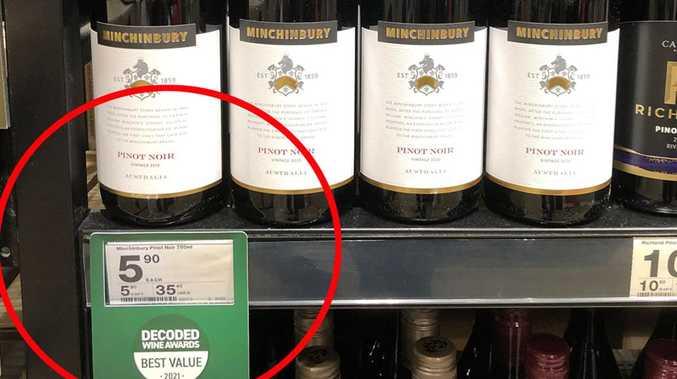 'Surprise' $6 winner in wine taste test