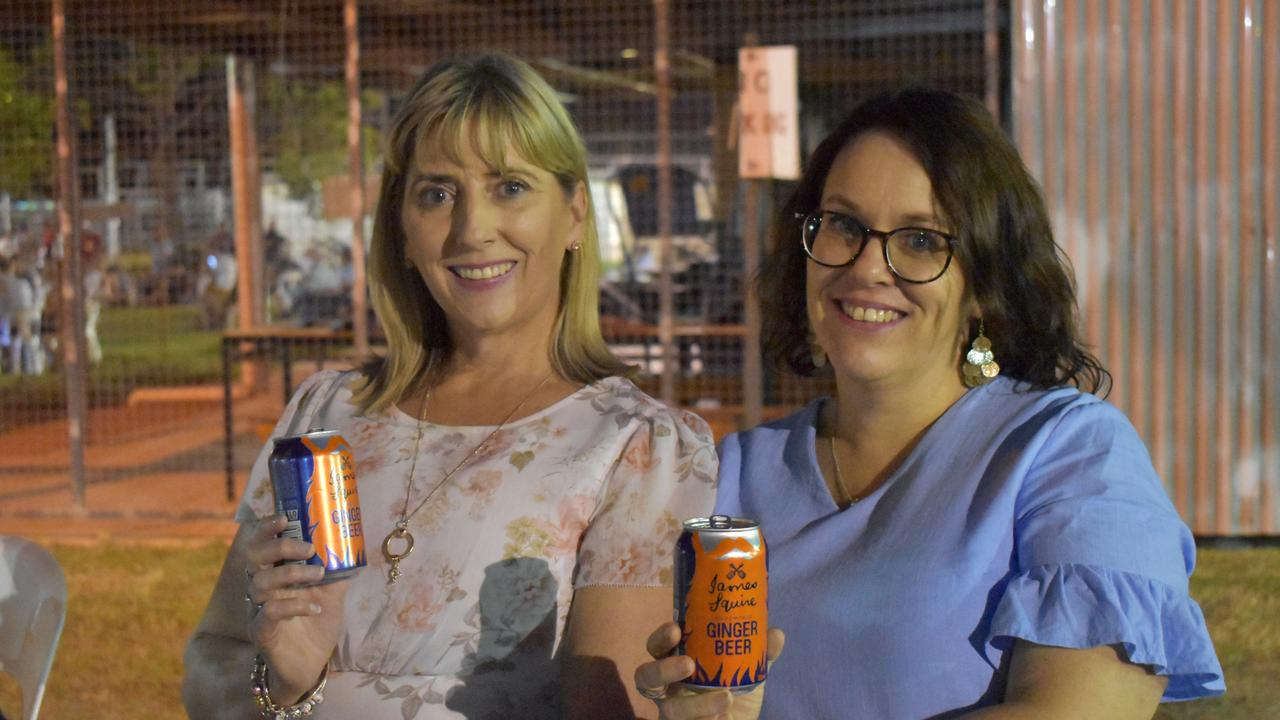 Kerry-Anne Horn and Kylie Campbell at the 2021 Warwick BBQ and Beers Roadshow Event.