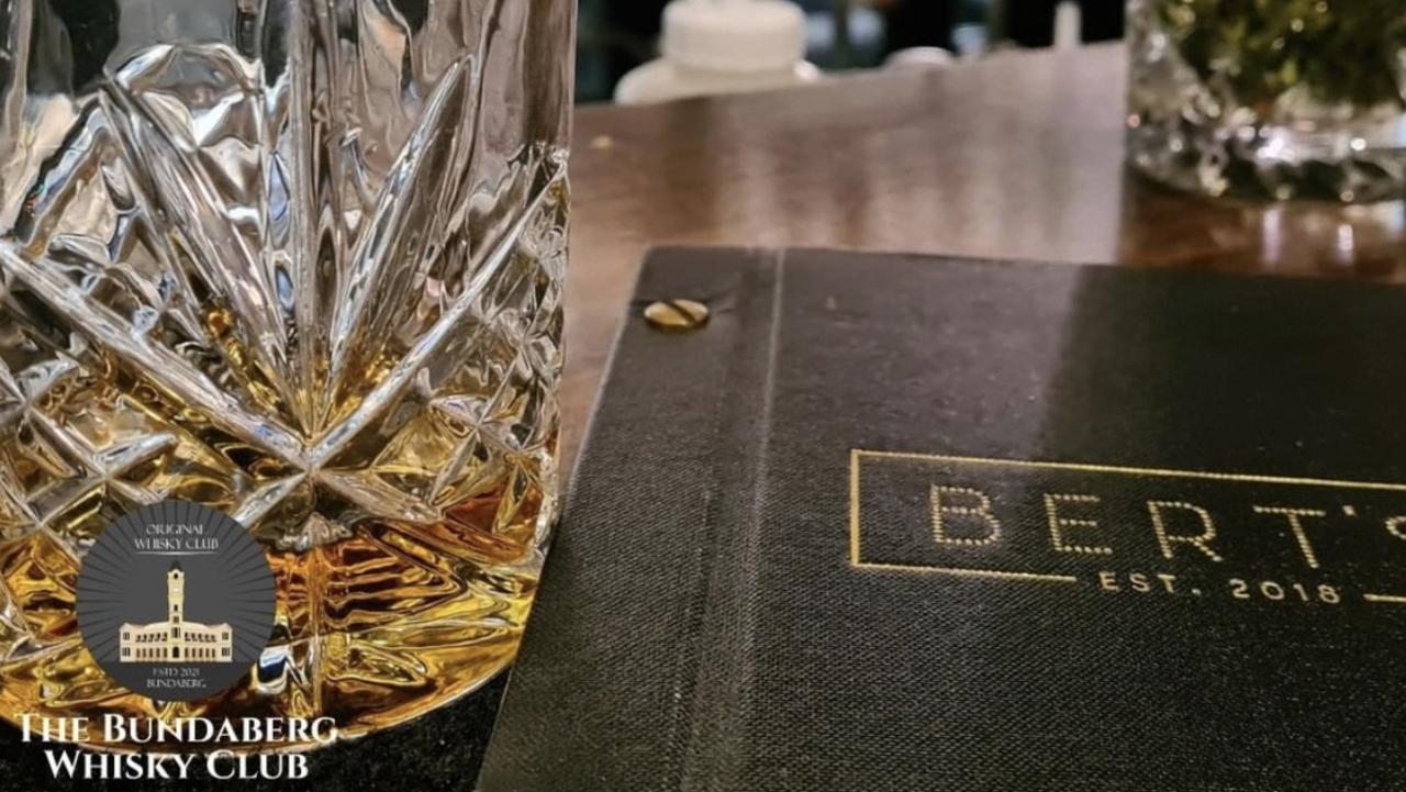 Bundaberg Whisky Club founders Tai Burgess and Shane Chung.