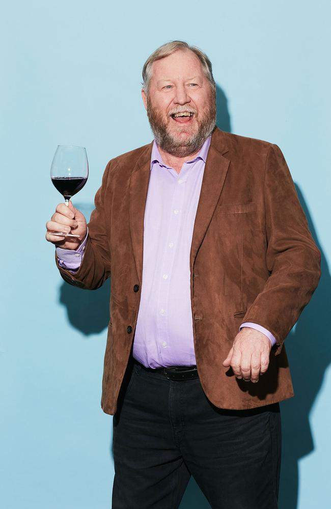 And this is Gary Braidner. He may just have the best job ever, tasting more than 6000 wines in 2020 alone. Picture: Supplied