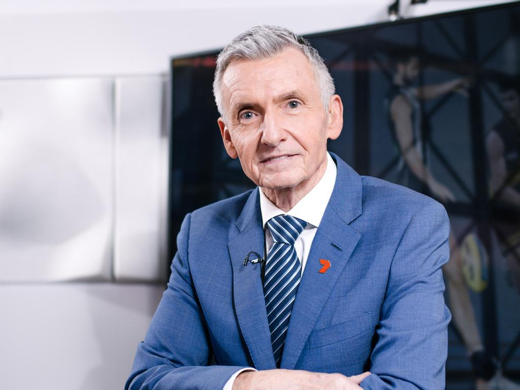 Bruce McAvaney will step back from AFL commentary this season.