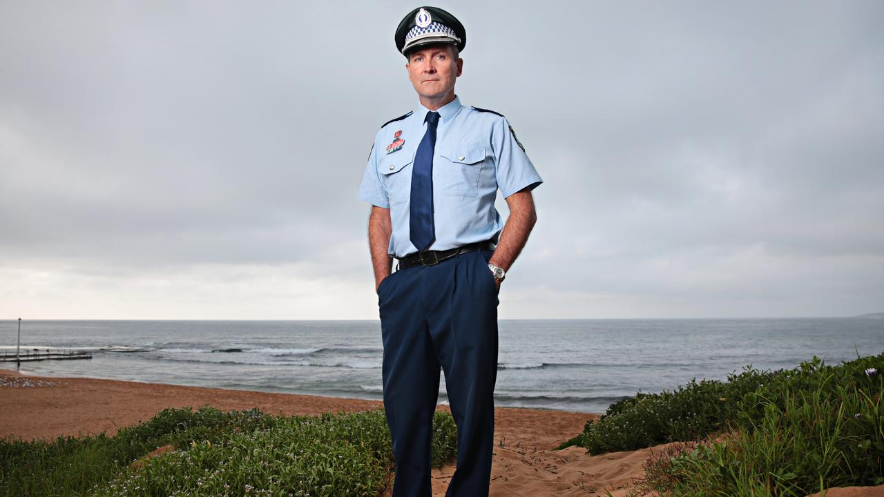 "Superintendent Joe McNulty: ""It is really irregular for bodies that may have entered the ocean at the Gap or Dover Heights to end up on the south coast"". Picture: Adam Yip"