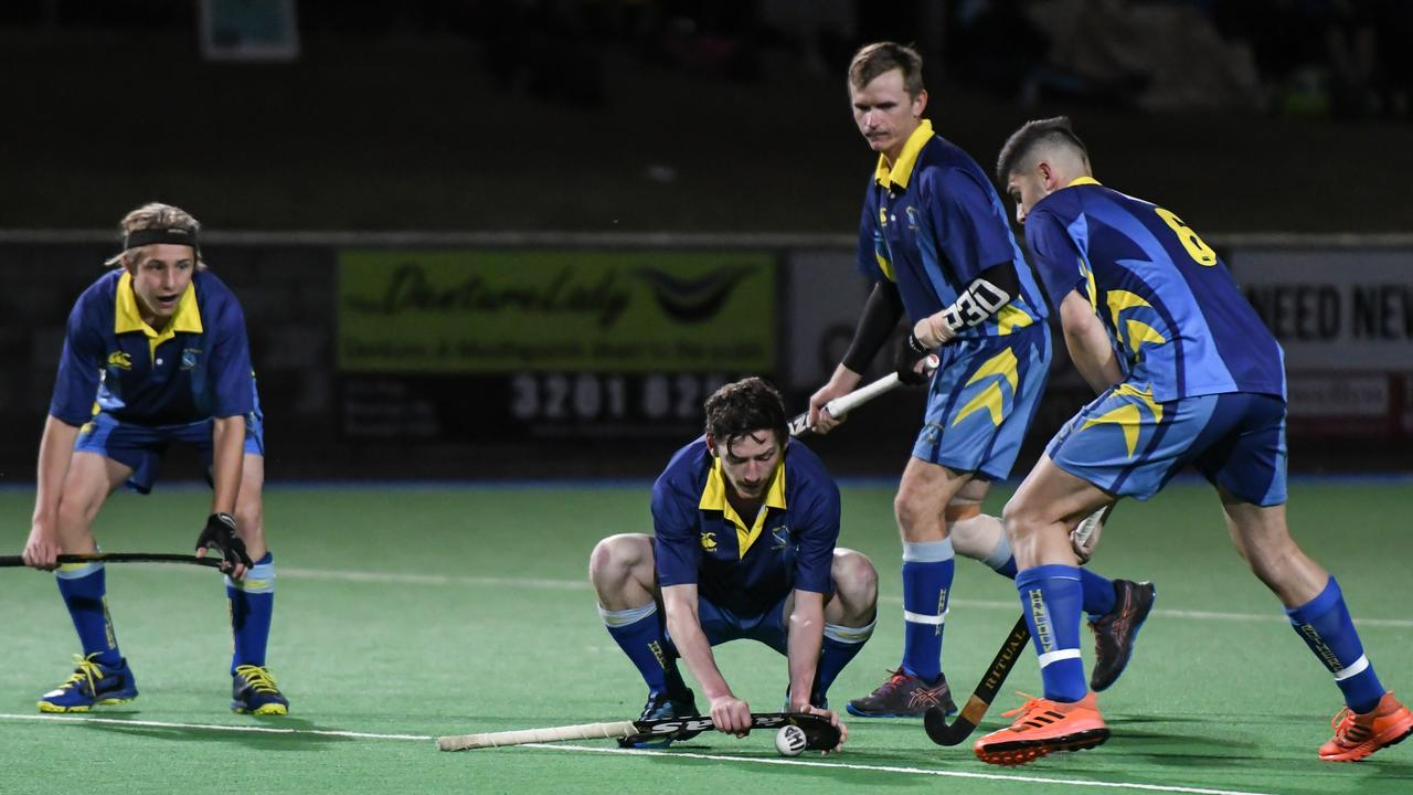 The Hancocks men open the 2021 Ipswich A-Grade season with a Friday night encounter against Wests. Picture: Darren J McCabe Photography