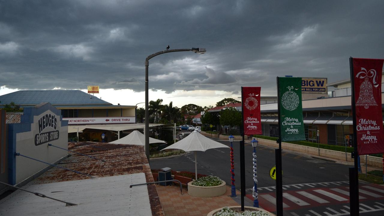STORMY WEATHER: The Western Downs is expected to receive some showers and thunderstorms this week. Picture: File