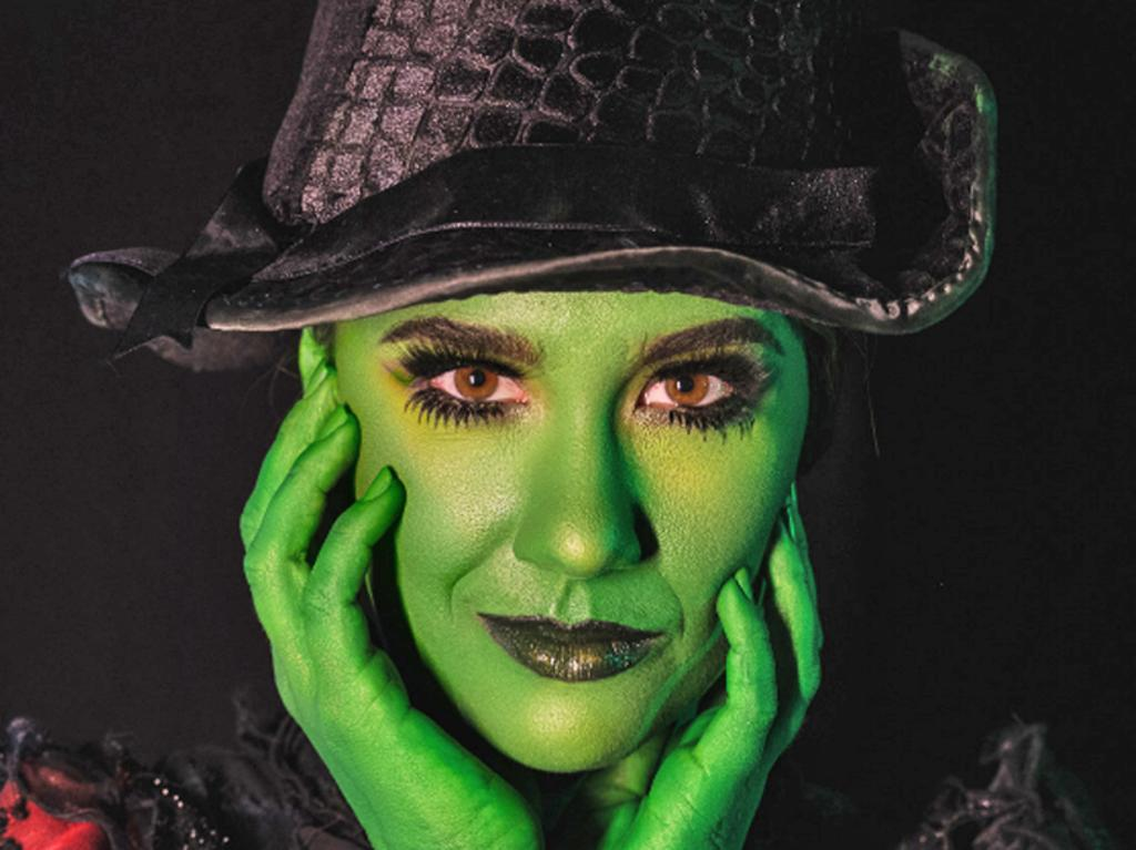 Samantha Dodemaide as Elphaba for Wicked at HOTA. Picture: Supplied.