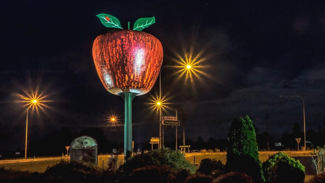 ON THE MOVE: The renowned Granite Belt landmark could soon be relocated from its long-term home on the New England Highway. Picture: Glenda Riley