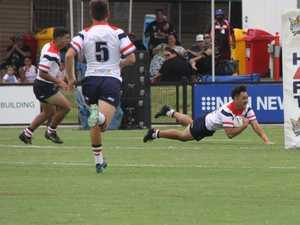 Future stars show off skills ahead of NRL clash