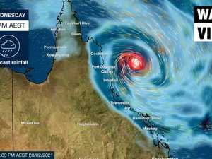 Cyclone heading for Queensland