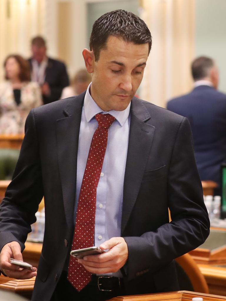 The hopes of the LNP have been pinned on its newest leader, David Crisafulli. Pic: Annette Dew