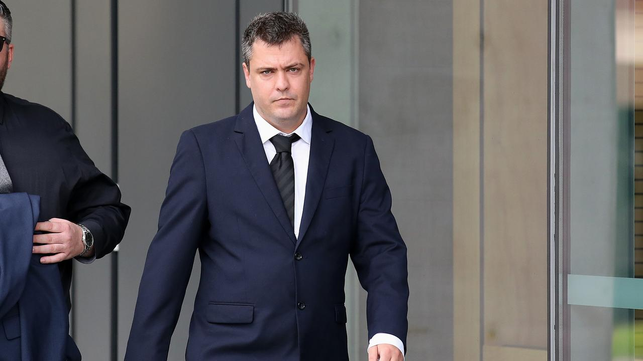 Matt James Nolan leaves court in Brisbane. Picture: NCA NewsWire /Jono Searle