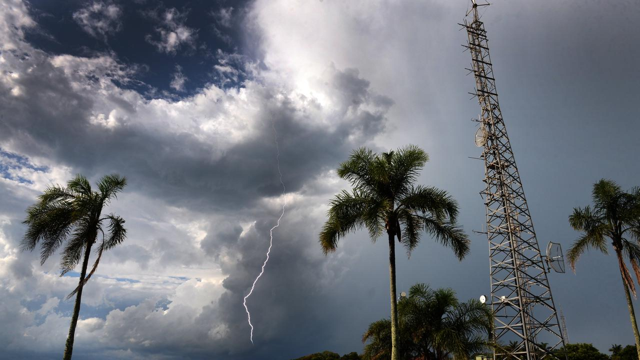 Showers and thunderstorms are on the forecast across the South Burnett. Photo/File
