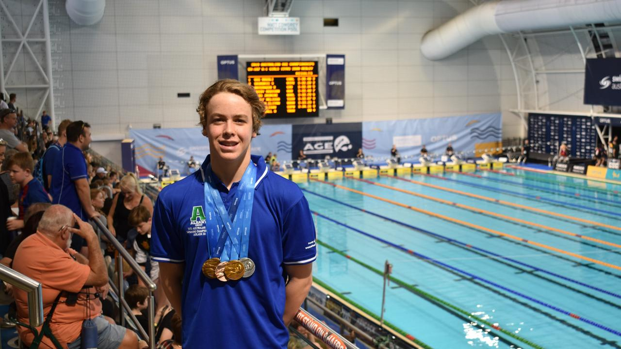 Elite swimmer Samuel Short