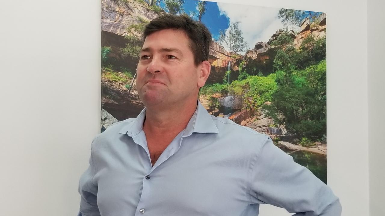 Altum Property Group construction director Rob McCready at the Capricorn Enterprise office in Rockhampton.