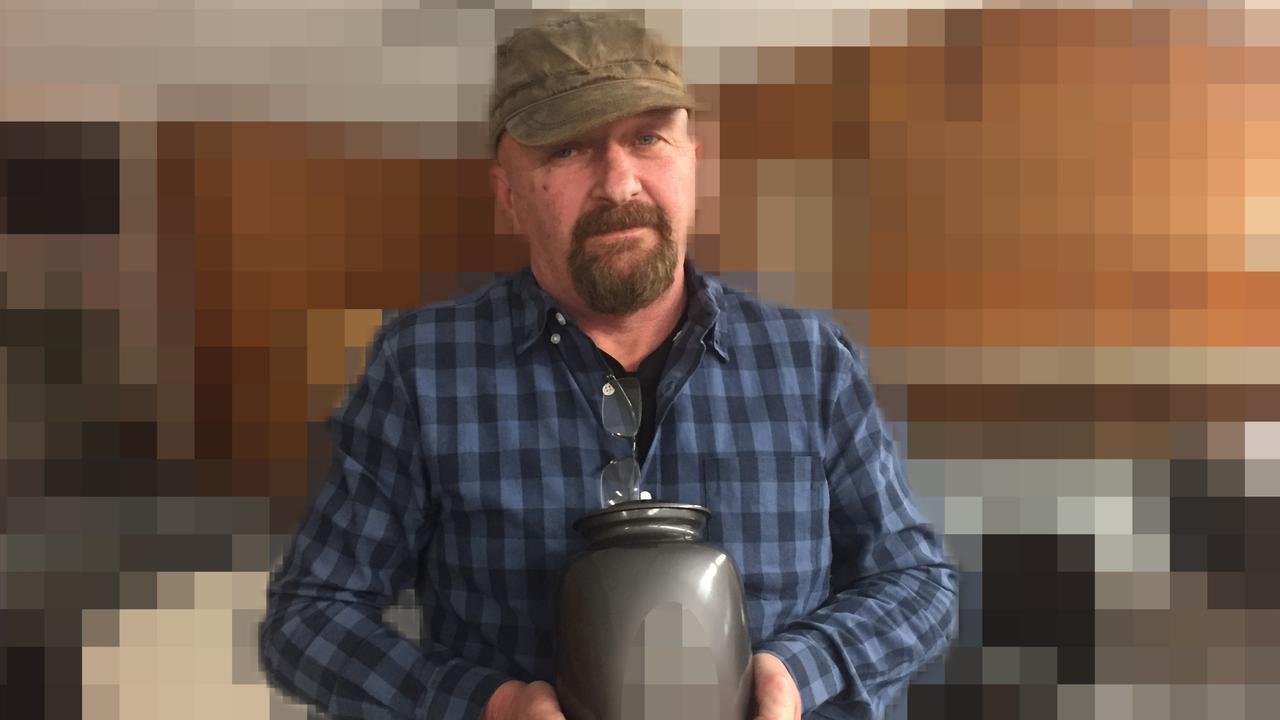 Bikie informant Stevan Utah. Picture: The Australian