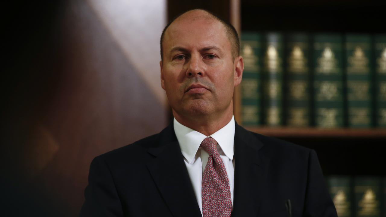 "Treasurer Josh Frydenberg accused the Premier of ""petty politicking"" over her JobKeeper comments. Picture: Daniel Pockett/NCA NewsWire"