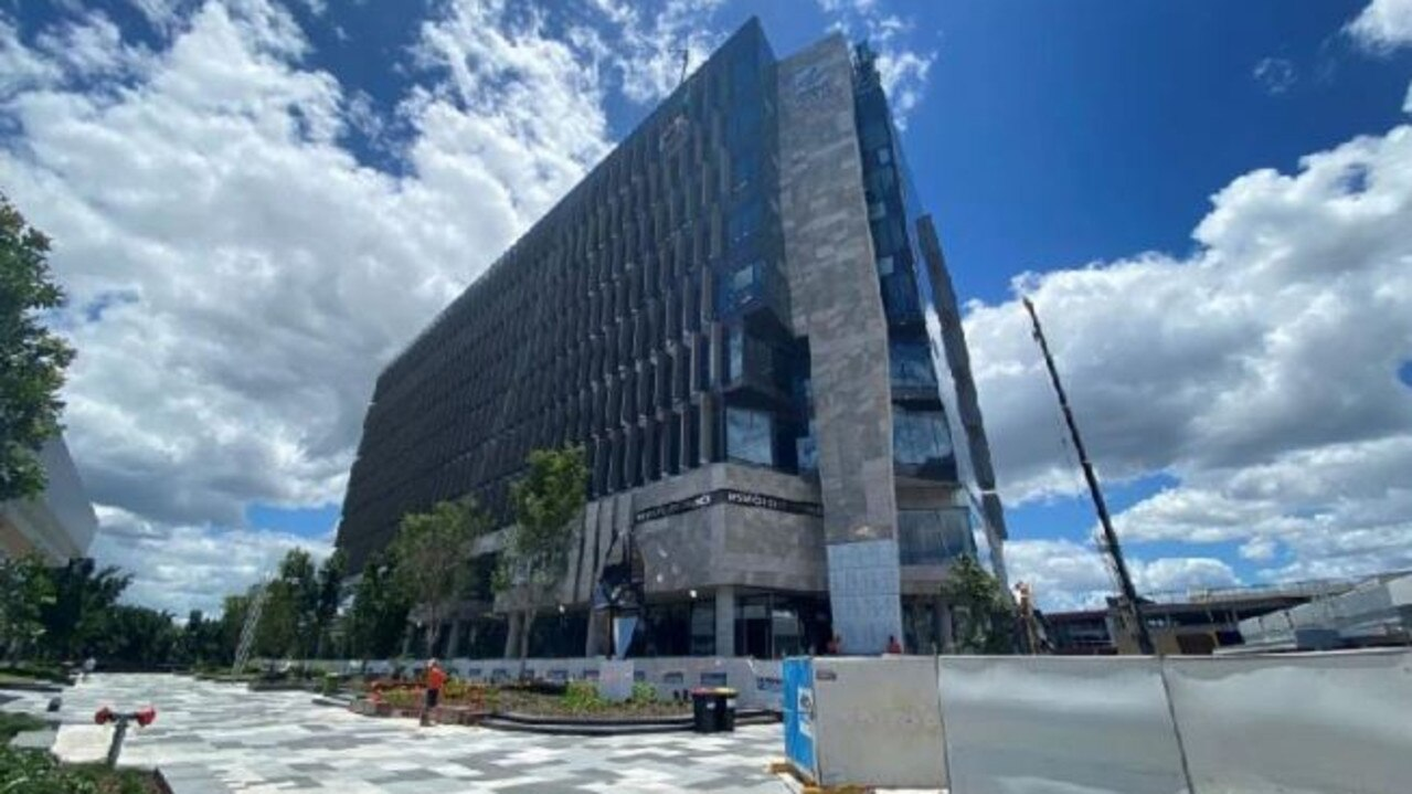 Construction of the new Ipswich City Council administration building in the Nicholas Street Precinct is expected to be completed by March.
