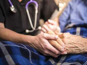 Nurses protest shocking state of private aged care