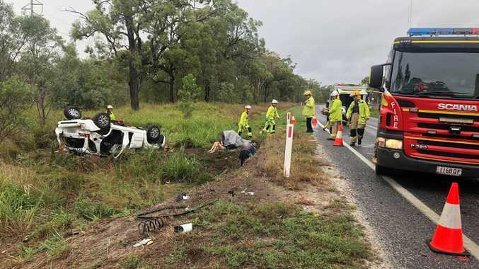 Heavily pregnant woman among 11 in serious crash