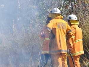 Bushfire smoke impacts CQ railway line