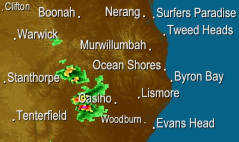A severe storm warning has been issued for the region.