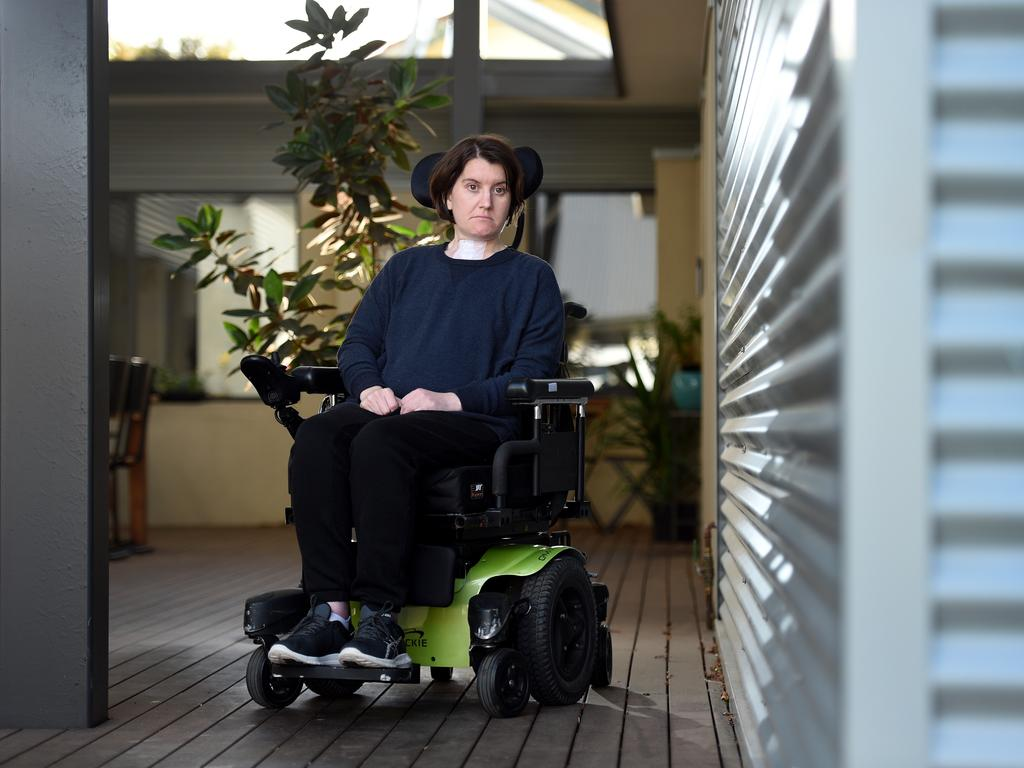 Kirby Littley was forced to join 6,000 young Australians living in aged care facilities.