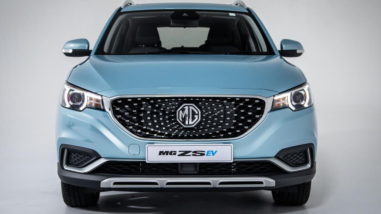 2021 MG ZS EV.