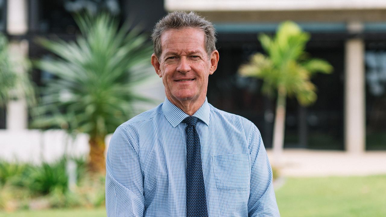 Livingstone Shire mayor Andy Ireland.