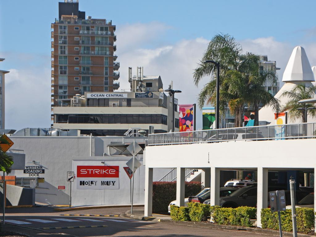 The Big Top Shopping Centre at Maroochydore has been evacuated this afternoon after an automated alarm went off.