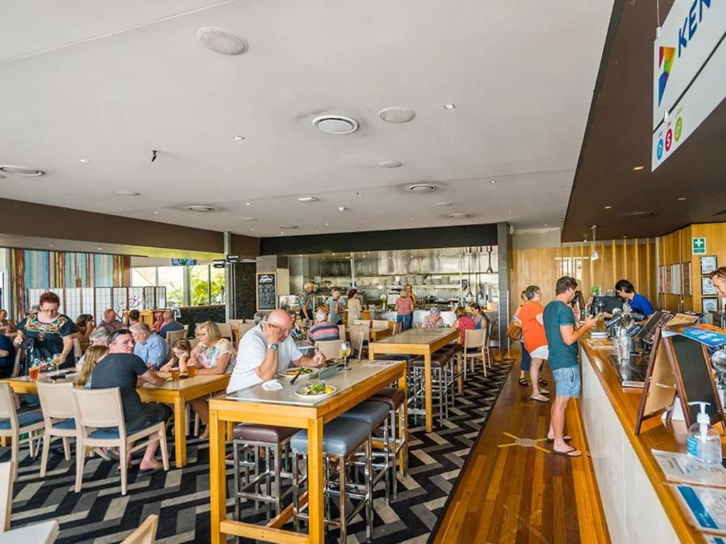The Pelican Waters Tavern is set to go under the hammer later this month with its parent company Ale Property Group's website valuing the waterfront venue at $7.6m.